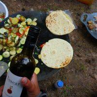 Seekajak Rügen - gemeinsames Abendessen - outdooVAGABUNDEN