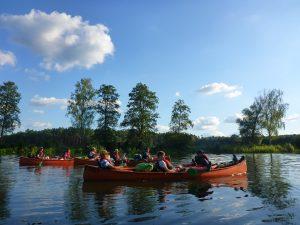 Kanuferien Spreewald Abenteuertour Abenteuerferien