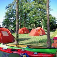 Klassenfahrt Zeltcamp Kanuwandern Schlepzig
