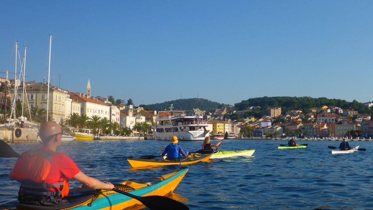 Seekajak Kroatien - Mali Lošinj - outdoorVAGBUNDEN
