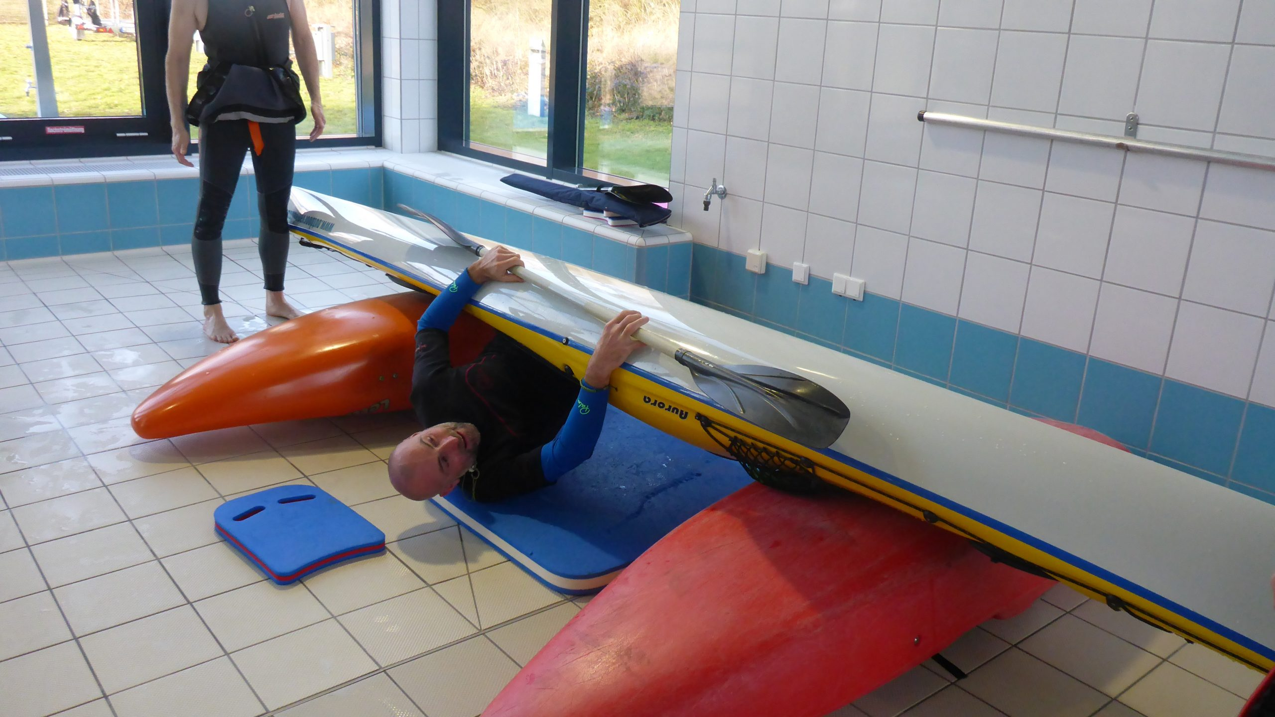 Roll Kurs Schwimmhalle outdoorVAGABUNDEN