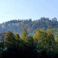 Kanutour Elbe Festung Königsstein outdoorVAGABUNDEN