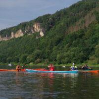 Kajakreise - Elbe Sächsische Schweiz - outdoorVAGABUNDEN