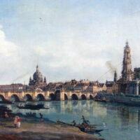 Kajakreise - Elbe - Canaletto Blick auf Dresden - outdoorVAGABUNDEN